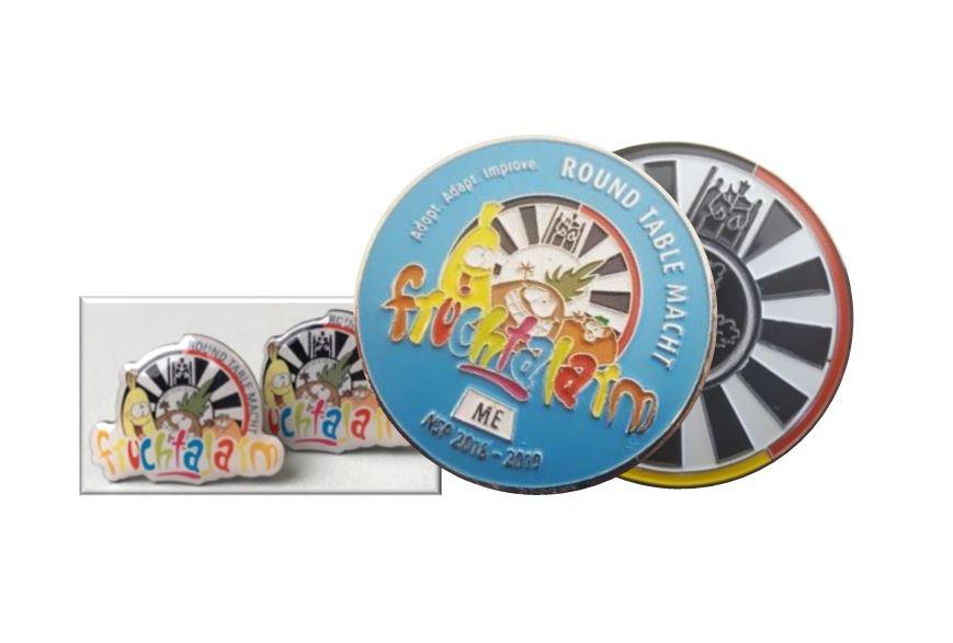 Coin und Pins